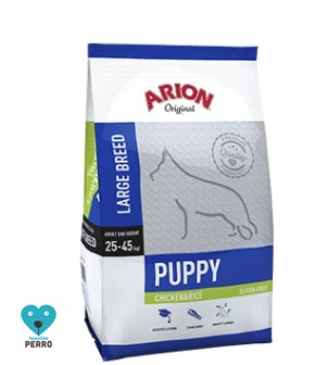 Arion Original Cachorros Razas Grandes Pollo Y Arroz 12 Kg