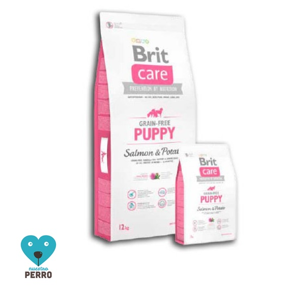 Brit Care Puppy Salmon Y Patata, Grain Free