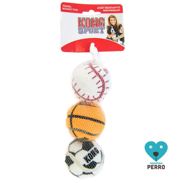 Juguete Para Perro Kong Sport Balls Medium