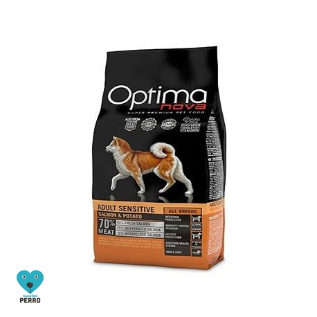 Optima Nova 12 Kg Adult Sensitive. Salmón (sin Cereales)