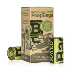 PoopBags – Bolsas Ecológicas Para Cacas 8 Rollos